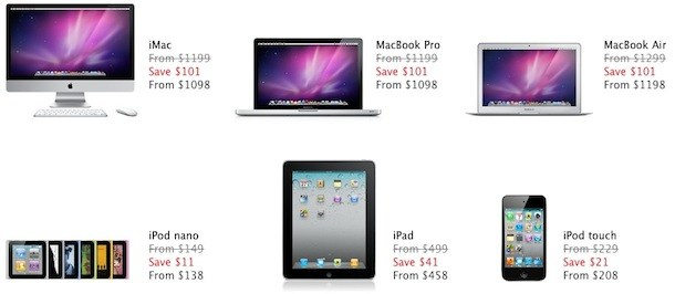 apple black friday sales
