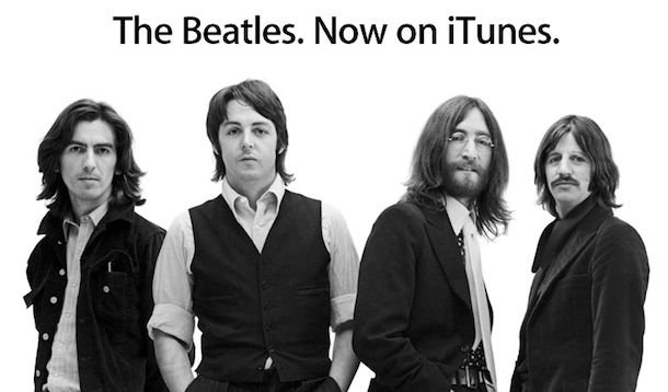 beatles on itunes