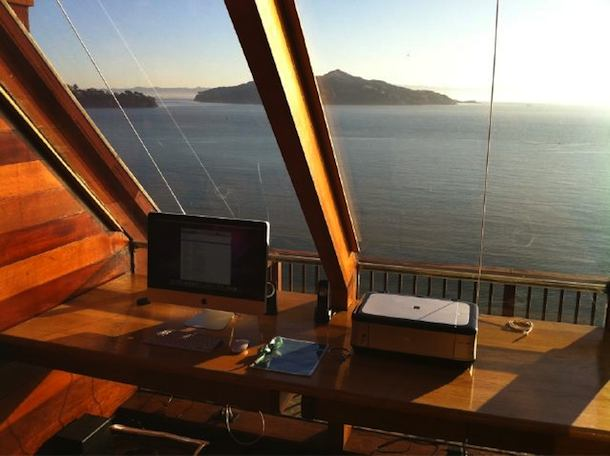 imac with a view
