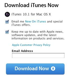 itunes 10 1 download