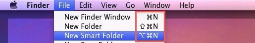 mac menu symbols