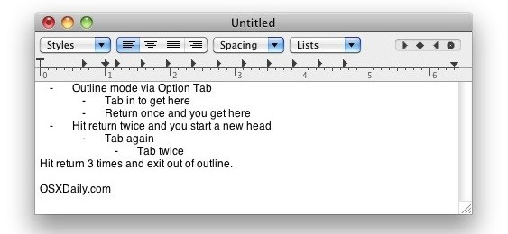 mac outline app