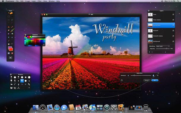 captura de pantalla de pixelmator