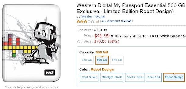 cheap western digital portable hard drive