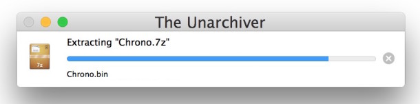 Extract 7z file archives in Mac OS X