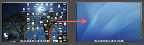hide desktop icons