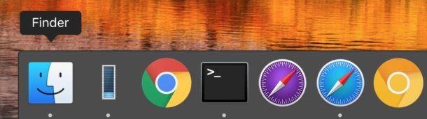 Hide and show the Mac Dock
