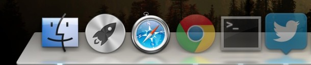 Hide and show the Dock in Mac OS X automatically