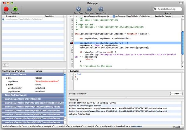 iad code editor
