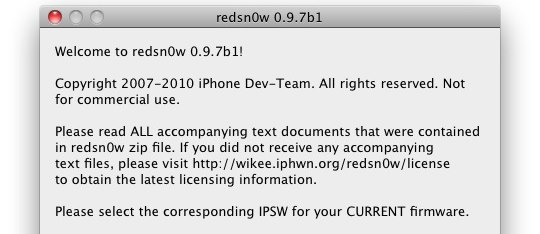 redsn0w 0-9-7-b1-download