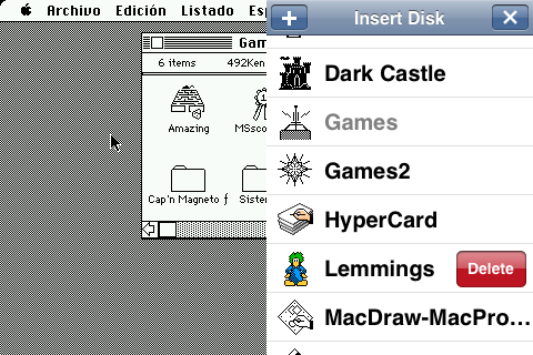 run old mac software on iphone
