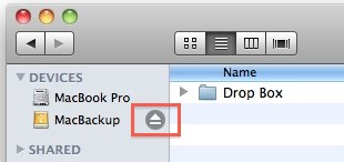 safely eject disk mac