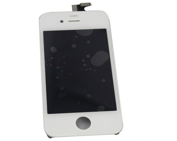 white iphone 4 touch screen