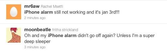iphone alarm clock bug failure