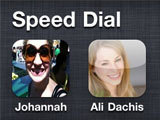 iphone speed dial icons