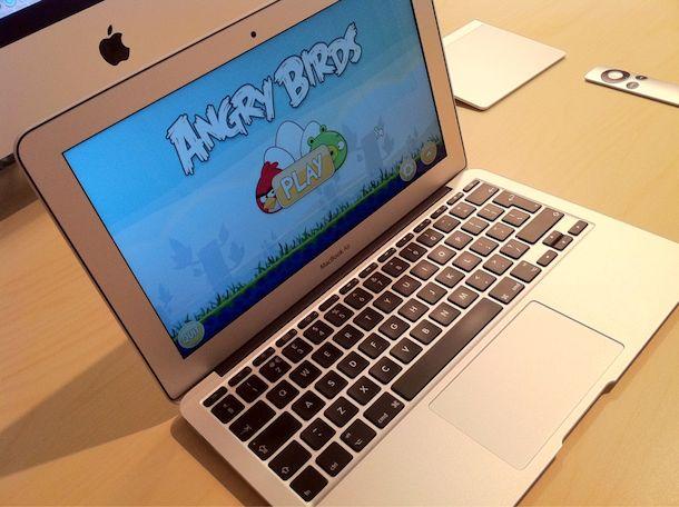 macbook air angry birds