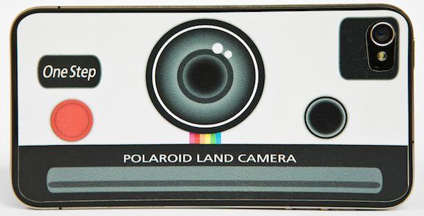 polaroid iphone sticker