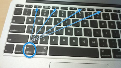 quick system preferences option key macbook