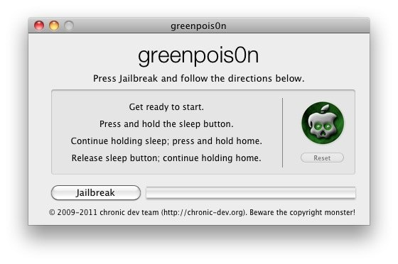 greenpois0n untethered jailbreak 4-2-1