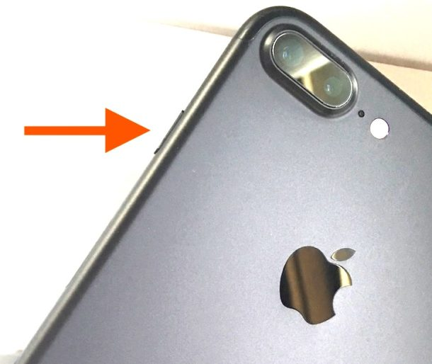 The iPhone Plus and new iPhone power button location