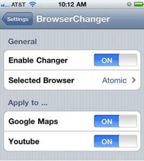 change default browser iphone change the default iphone web browser with browserchanger 13765