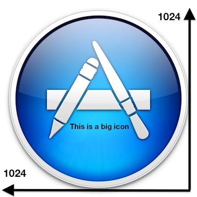 high resolution icons in Mac OS X Lion