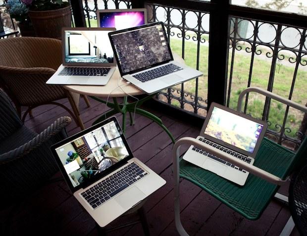 MacBook Pros and MacBook Airs