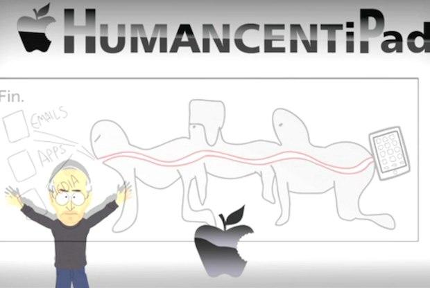 South Park HumancentiPad