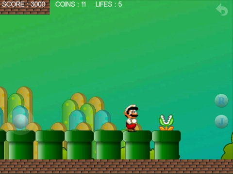 Super Mario Brothers rip-off