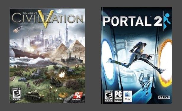 Civ 5 and Portal 2 Sale