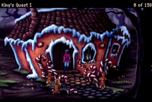 Kings Quest 1 screen shot