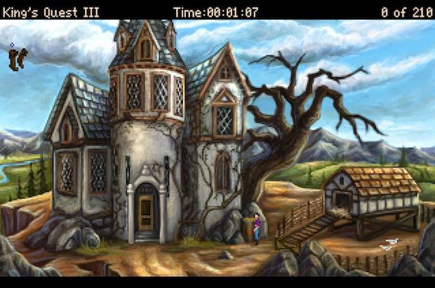 Kings Quest 3 Screen Shots
