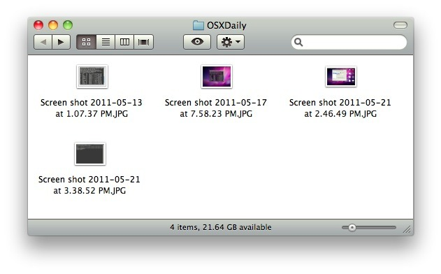Screenshot with window shadows in Mac OS X