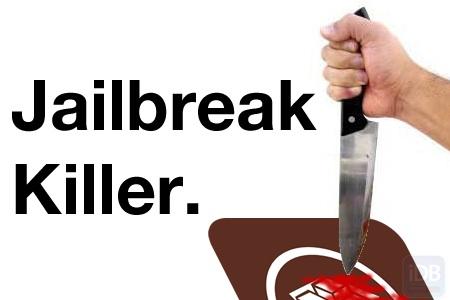 Apple killing jailbreaking possibilities