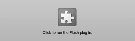 Click to Play Flash in Chrome