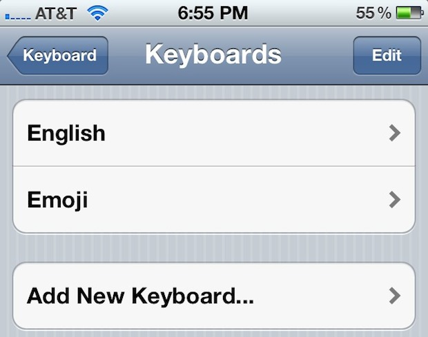 iOS 5 Beta includes an Emoji Keyboard