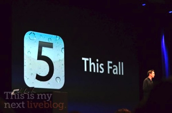 iOS 5 Release Date