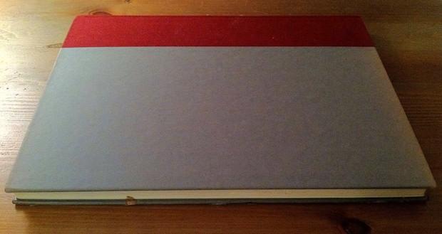 Closed Homemade iPad Book Case