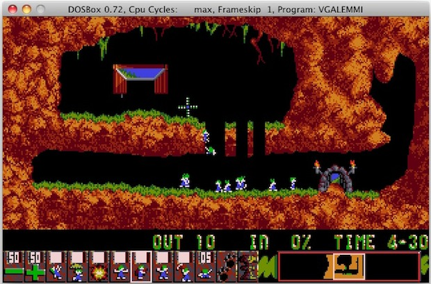 Original Lemmings for Mac OS X