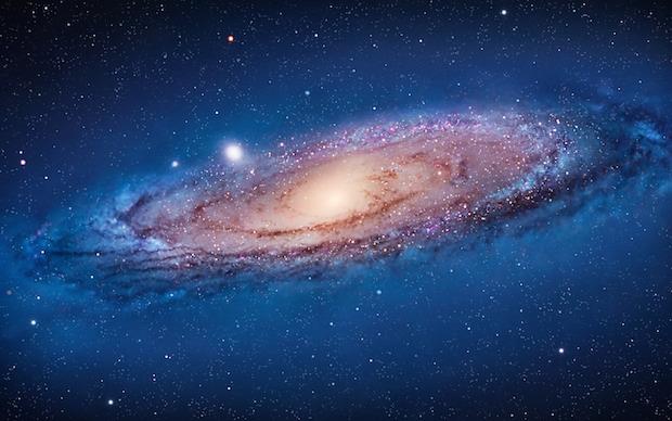 Mac OS X Lion Galaxy Andromeda Wallpaper