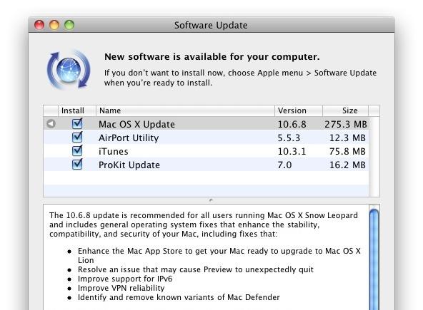 MAC OS TÉLÉCHARGER 10.6.8 POUR ITUNES