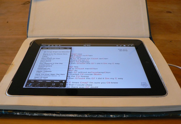 Make Your Own iPad Book Case