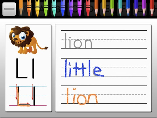 Alphabet Fun on the iPad: Lion!
