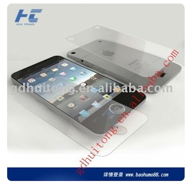 Another iPhone 5 mockup, according to a Chinese accessory manufacturer
