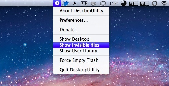 Desktop Utility for Mac OS X