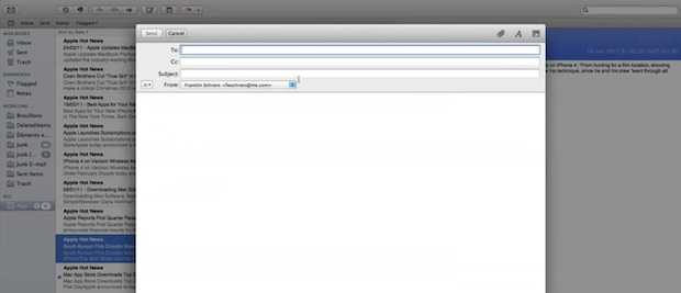 Disable Mail Animation in OS X Lion