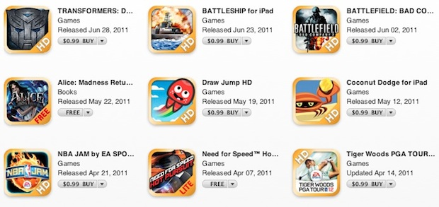 EA iOS Game Sale
