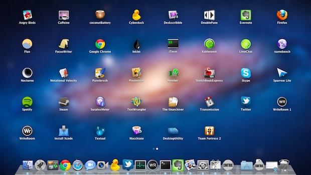 Refresh Launchpad in Mac OS X