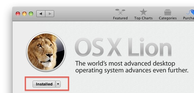 Install OS X Lion Final over Lion GM in the App Store
