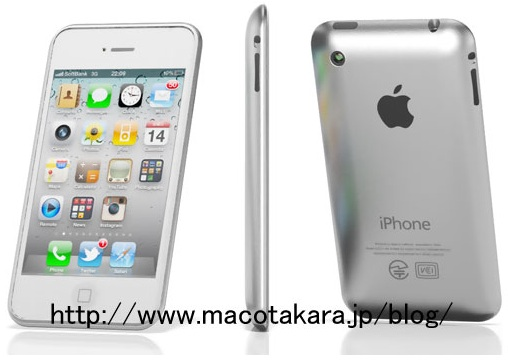 iPhone 5 mockup from Macotakara